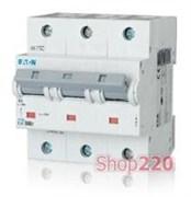 Автоматический выключатель С 125 A, 3пол., PLHT Moeller