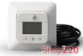 Терморегулятор электронный с датчиками пола и воздуха ECO16LCDJ+E Ensto