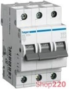 Трехфазный автоматический выключатель 32 А, уставка С, MC332A Hager
