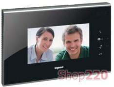 Видеодомофон с сенсорным экраном 7'', черный, 369310 Legrand