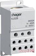 Блок распределительный 1 полюс, 400А, KJ02B Hager