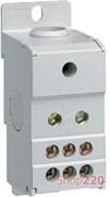 Блок распределительный 1 полюс, 160А, KJ02C Hager