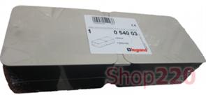 Коробка для заливки в бетон для лючка на 8 модулей, 54003 Legrand