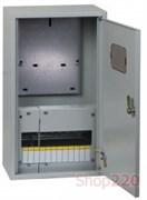 Щит для установки счетчика + 12 модулей, ЩУРн-3/12зо-1 IEK