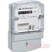 Счетчик электроэнергии однофазный НИК 2102-02 М2 В