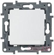 Промежуточный выключатель 1-клавишный, белый, 672209 Legrand Etika