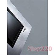 Рамка 1 пост, металлик, Unica MGU66.002.297 Schneider