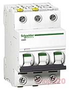 Автоматический выключатель ACTI 9, 10A тип C, трехполюсный, iC60N A9F79310 Schneider