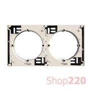 Коробка для накладного монтажа, наборная, слоновая кость, EPH6100223 Schneider Asfora
