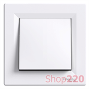 Кнопка, белый, EPH0700121 Schneider Asfora