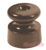 Изолятор керамический, коричневый Garby 30913470 Fontini