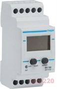 Реле контроля напряжения с вольтметром, однофазное, EU102 hager
