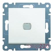 Светорегулятор нажимной, белый, Lumina-2 WL4030 Hager