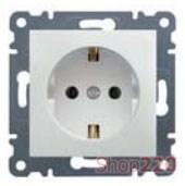 Розетка с заземлением, белый, Lumina-2 WL1050 Hager