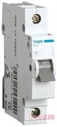 Автоматический выключатель 13 А, однофазный, хар-ка С, MC113A Hager