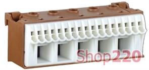 Блок фазных клемм, ширина - 90мм, KN22P Hager