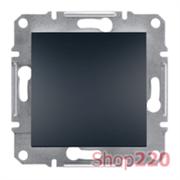Перекрестный выключатель, антрацит, EPH0500171 Asfora Schneider