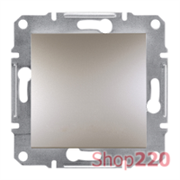 Перекрестный выключатель, бронза, EPH0500169 Asfora Schneider