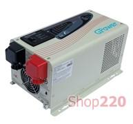 Инвертор напряжения 24 В / 220 В, мощность 1500 Вт, GPower
