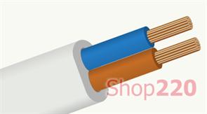 Провод ШВВП 2х1,5 кв мм, ЗЗЦМ