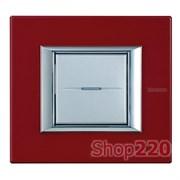 Рамка прямоугольная, лакированная, цвет рубин, HA4802RC