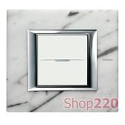 Рамка прямоугольной формы, камень, цвет мрамор Carrara, HA4802RMC