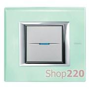 Рамка прямоугольная, стекло, цвет кристалл, HA4802VKA