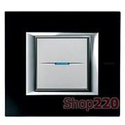 Рамка прямоугольная, стекло, цвет черное стекло, HA4802VNN