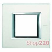 Рамка прямоугольная, стекло, цвет матовое стекло, HA4802VSA