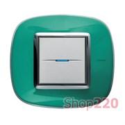 Рамка форма эллипс, прозрачная, цвет мятная карамель, HB4802DV