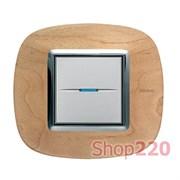 Рамка форма эллипс, дерево, цвет клен, HB4802LAE