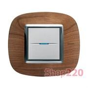 Рамка форма эллипс, дерево, цвет черешня, HB4802LCA