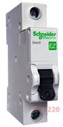 Автомат 6 А, 1 полюс, тип С, EZ9F34106 Schneider Easy9