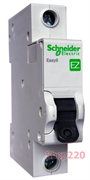 Автомат 25 А, 1 полюс, тип С, EZ9F34125 Schneider Easy9