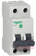 Автомат 10 А, 2 полюса, тип С, EZ9F34210 Schneider Easy9