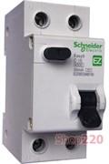 Дифавтомат 25 А, 30мА, тип С EZ9D34625 Schneider Easy9
