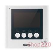 """Внутренний блок  4,3"""" с цветным дисплеем, 369115 Legrand"""
