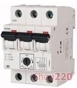 Автомат защиты двигателя 0,16А, 3 полюса, Z-MS-0.16/3 Eaton