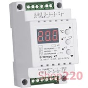 Терморегулятор двухканальный terneo k2
