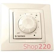 Термостат для конвекторов terneo rol, слоновая кость
