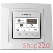 Терморегулятор для инфракрасных панелей terneo pro, белый