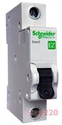 Автоматический выключатель 6А, тип В, 1п, EZ9F14106 Schneider