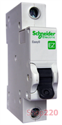 Автоматический выключатель 10А, тип В, 1п, EZ9F14110 Schneider