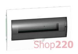 Щиток врезной 18 модулей, дымчатая дверца, EZ9E118S2F Schneider
