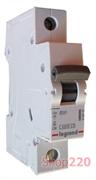Автоматический выключатель 63А, 1 полюс, тип С, 419670 Legrand RX3