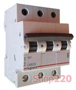 Автоматический выключатель 10А, 3 полюса, тип С, 419706 Legrand RX3