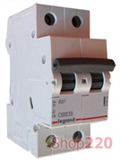 Автоматический выключатель 32А, 2 полюса, тип С, 419700 Legrand RX3