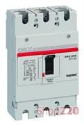 Автоматический выключатель 160A, 3 полюса, 25кА, 27230 Legrand DRX250