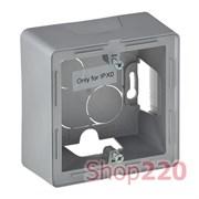 Коробка для накладного монтажа 1-постов,а алюминий, Valena 754211 Legrand