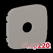 Лицевая панель розетки TV, алюминий, Valena 754767 Legrand